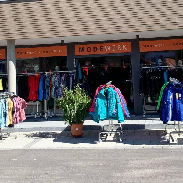 Modewerk Oberstaufen Outlet außen 2